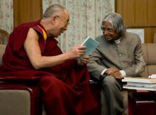 Dalai Lama and Adul Kalam Visit