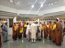 Inauguration of Exhibition on His Holiness the Dalai Lama at Art Gallery, IIC