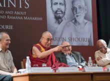 Launch of Arun Shourie's book 'Two Saints'